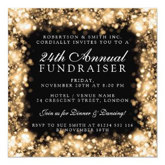 Oro corporativo del fiesta de la gala de la invitación 13,3 cm x 13,3cm