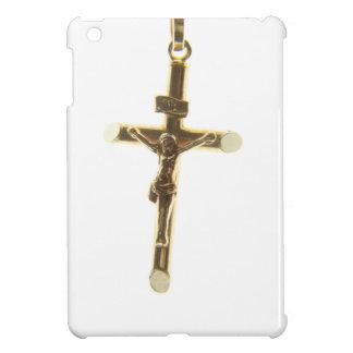 Oro cruzado del Jesucristo horizontal