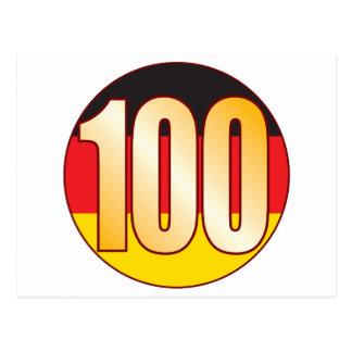 Oro de 100 ALEMANIA Postal