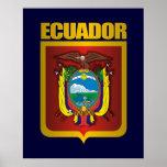 """""""Oro de Ecuador """" Póster"""