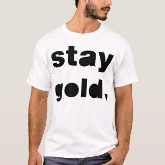 Oro de la estancia camiseta