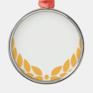 Oro de la guirnalda del laurel ornamente de reyes