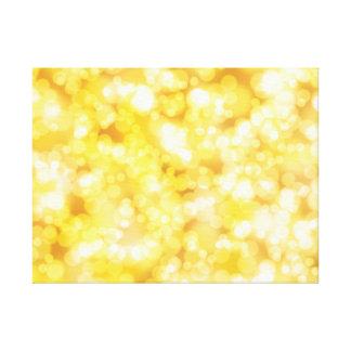 Oro de lujo del diamante impresión en lienzo