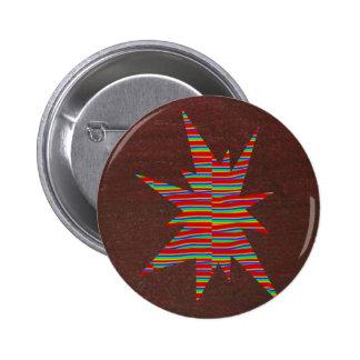Oro de NOVINO, Brown, símbolos, regalo artístico B Pins