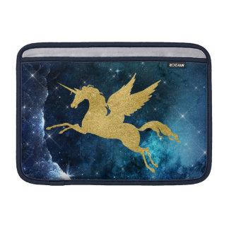 Oro del azul de la constelación de la galaxia de funda para MacBook