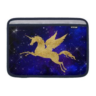 Oro del azul de la constelación de la galaxia de funda para macbook air