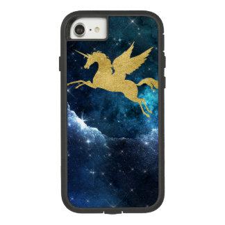 Oro del azul de la constelación de la galaxia de funda tough extreme de Case-Mate para iPhone 7