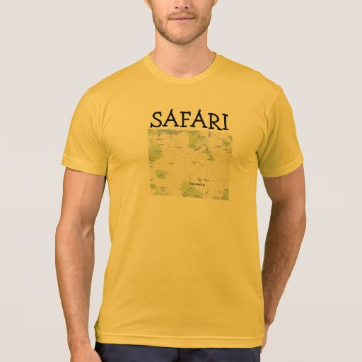 Oro del brezo de Tanzania del safari Camisetas