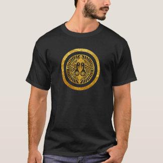 Oro del clan japonés de Ikko Ikki lunes falso en Camiseta