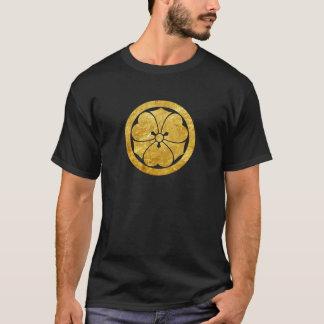 Oro del clan japonés del samurai de Sakai lunes Camiseta