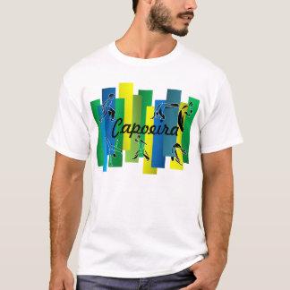oro del hacha de los artes marciales del capoeira camiseta