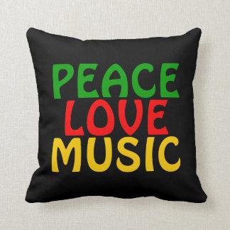 Oro del rojo del verde de la música del amor de la almohadas