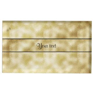 Oro elegante Frost Soportes Para Tarjetas De Mesa