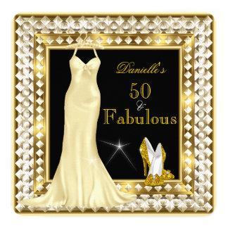 Oro fabuloso 50 Deco de Hollywood del encanto