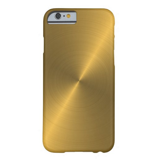 Oro Funda De iPhone 6 Barely There