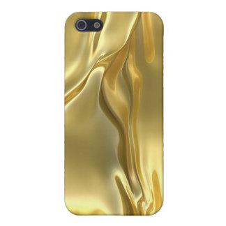Oro iPhone 5 Protectores