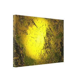 Oro Impresión En Lienzo