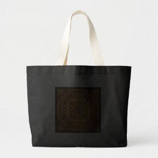Oro maya bolsas lienzo