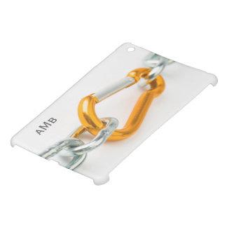 Oro metálico brillante y clip de cadena de los