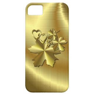 Oro puro iPhone 5 Case-Mate fundas