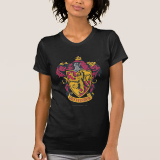Oro y rojo del escudo de Gryffindor Camiseta