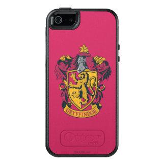 Oro y rojo del escudo de Harry Potter el | Funda Otterbox Para iPhone 5/5s/SE