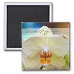 Orquídea • Ahorre el imán de la fecha