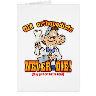 Ortopedistas Tarjeta De Felicitación