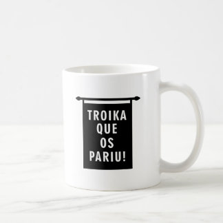 OS Pariu de Que de la troika Tazas De Café