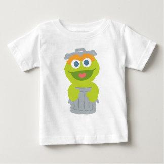 Óscar el bebé del Grouch Camiseta De Bebé