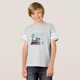 Óscar la camiseta del tren por DrParanoidAndroid