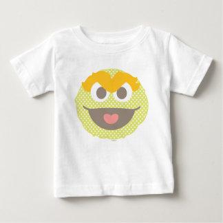 Óscar la cara grande del lunar del Grouch Camiseta De Bebé