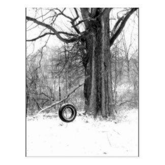 oscilación del neumático postal