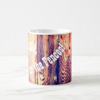 Oscilación grande ideal del | para la taza de café