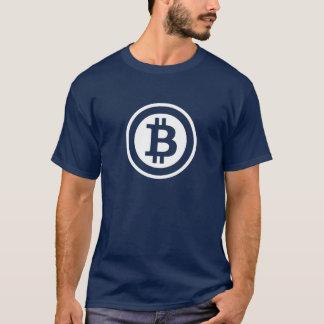 Oscuridad de la camiseta de BitCoin