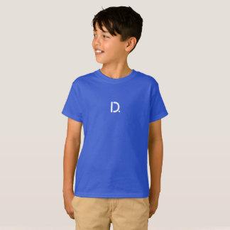 Oscuridad de la camiseta de Hanes TAGLESS® de los