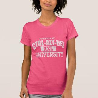 Oscuridad de la universidad Ctrl-Alt-Del Camisetas