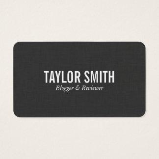 Oscuridad del lino el   tarjeta de negocios