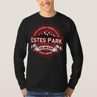 Oscuridad roja del parque de Estes Camiseta