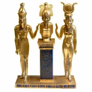 Osiris, Horus, y ISIS - escultura del ornamento Escultura Fotográfica