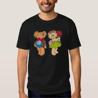 Osito de peluche teddy bear pareja couple camisas