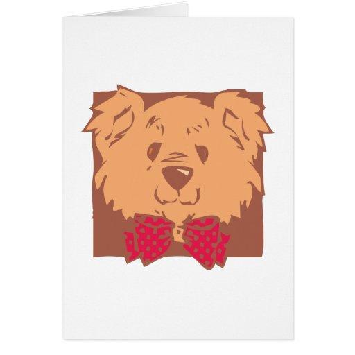 Osito de peluche teddy bear tarjetas