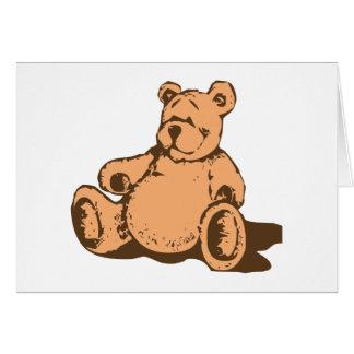 Osito de peluche teddy bear felicitación