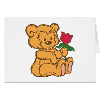 Osito de peluche teddy bear tarjeta