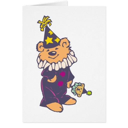 Osito de peluche teddy bear felicitacion