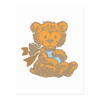 Osito de peluche teddy bear postales