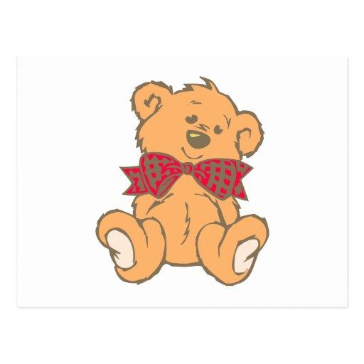 Osito de peluche teddy bear tarjetas postales