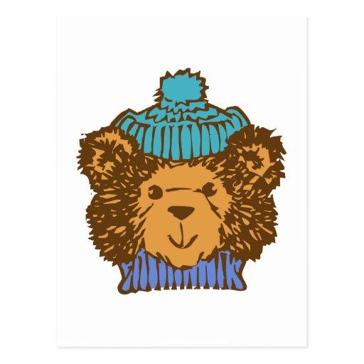 Osito de peluche teddy bear postal