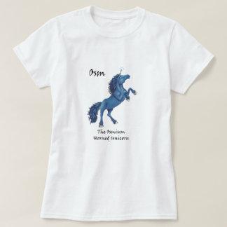Osm la camiseta Osmio-De cuernos del unicornio