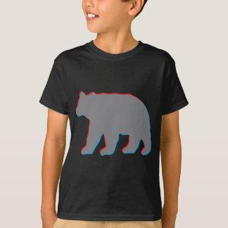 oso 3D Camiseta